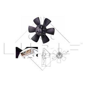 NRF Luftkühlung 47391 für AUDI 80 1.8 GTE quattro (85Q) 110 PS kaufen