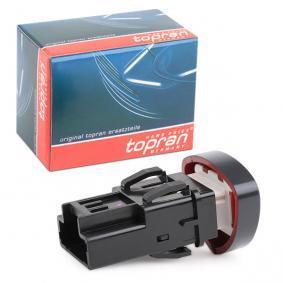 CLIO II (BB0/1/2_, CB0/1/2_) TOPRAN Warnblinkschalter 701 004