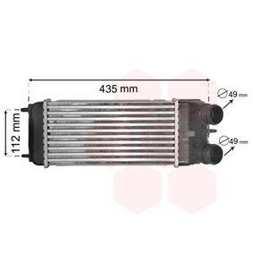 VAN WEZEL Ladeluftkühler Netzmaße: 300 - 158 - 80 09004252 in Original Qualität
