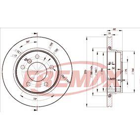 Bremsscheibe FREMAX Art.No - BD-2315 OEM: 34216864903 für BMW kaufen