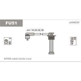 JANMOR gyújtókábel készlet EPDM (Etilén-Propilén-Dién-Kaucsuk), 160mm 5902925008374 értékelés