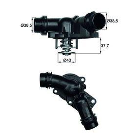Thermostat, coolant MAHLE ORIGINAL Art.No - TM 13 97 OEM: 11537509227 for BMW, MINI buy