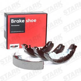 25 Хечбек (RF) STARK Барабанни челюстни спирачки SKBS-0450027