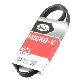 CIVIC VIII Hatchback (FN, FK) GATES Poly belt 5PK848