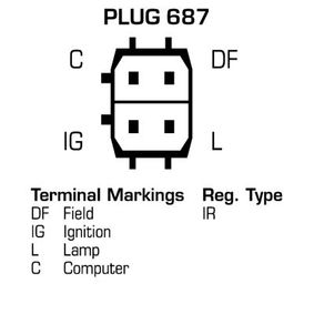 Generator DELCO REMY Art.No - DRA0731 OEM: C2S3710 für JAGUAR kaufen