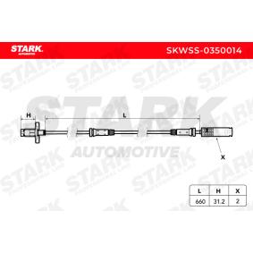 STARK Sensor, Raddrehzahl (SKWSS-0350014) niedriger Preis