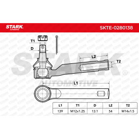 STARK Spurstangenkopf (SKTE-0280138)