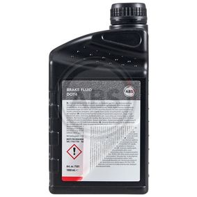Beliebte Kupplungsflüssigkeit A.B.S. 7501 für RENAULT CLIO 1.5 dCi (B/CB07) 65 PS