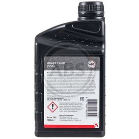 Brake fluid (7501) producer A.B.S. for FIAT PANDA (169) year of manufacture 09/2003, 60 HP Online Shop