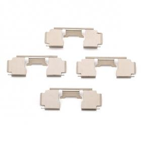 Комплект принадлежности, дискови накладки 1276Q A.B.S.