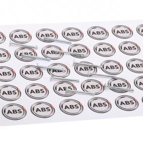 A.B.S. Σετ βοηθ. εξαρτημάτων, σιαγόνες φρένου 96167