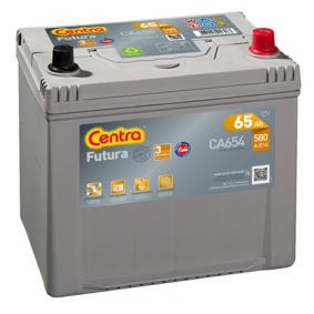 Starterbatterie CENTRA Art.No - CA654 OEM: 371101H800 für HYUNDAI, KIA kaufen