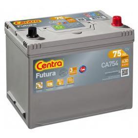 Starterbatterie CENTRA Art.No - CA754 OEM: 1060816 für FORD kaufen