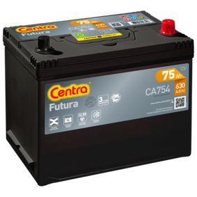 CENTRA Starterbatterie 1060816 für FORD bestellen