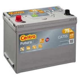 Starterbatterie CENTRA Art.No - CA755 OEM: EC0730008 für VW, OPEL, SKODA, TOYOTA, NISSAN kaufen