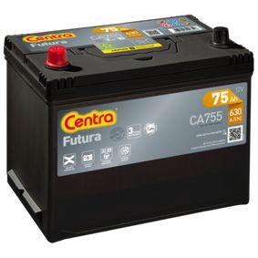 CENTRA Starterbatterie EC0730008 für VW, OPEL, SKODA, TOYOTA, NISSAN bestellen