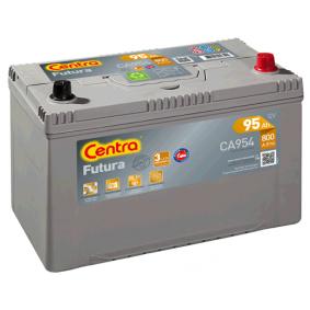 Starterbatterie CENTRA Art.No - CA954 OEM: 5600TG für PEUGEOT, CITROЁN kaufen