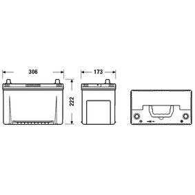 5600TG für PEUGEOT, CITROЁN, Starterbatterie CENTRA (CA954) Online-Shop