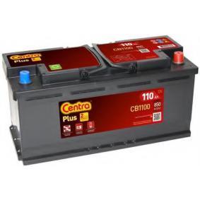 Starterbatterie CENTRA Art.No - CB1100 OEM: 5K0915105M für VW, AUDI kaufen