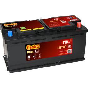 CENTRA Starterbatterie 61218376456 für BMW bestellen
