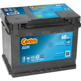 Startovací baterie CK600 CENTRA