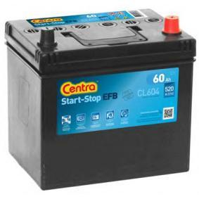 Starterbatterie CENTRA Art.No - CL604 OEM: PE1T18520 für MAZDA kaufen