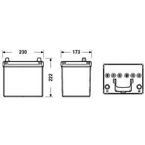 PE1T18520 für MAZDA, Starterbatterie CENTRA (CL604) Online-Shop