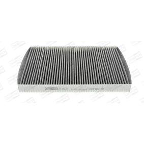 CHAMPION Filter, Innenraumluft 8L0091800 für VW, AUDI, SKODA, SEAT, HONDA bestellen