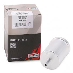 Bränslefilter | CHAMPION Artikelnummer: CFF100236