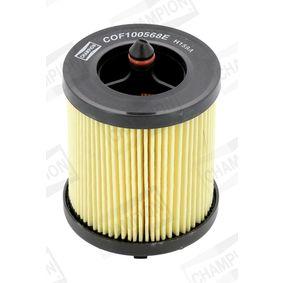 CHAMPION Filtro de aceite (COF100568E)