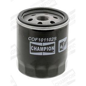 CHAMPION Filtro de aceite (COF101102S)