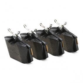 CIFAM Bremsbelagsatz, Scheibenbremse (822-100-1) zum günstigen Preis