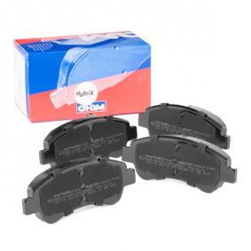 425341 for PEUGEOT, CITROЁN, OPEL, DS, PIAGGIO, Brake Pad Set, disc brake CIFAM (822-327-0) Online Shop
