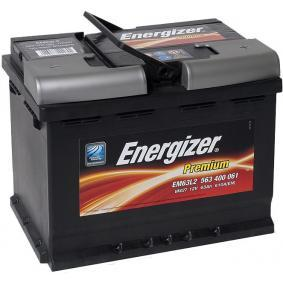 ENERGIZER Starterbatterie EM63-L2