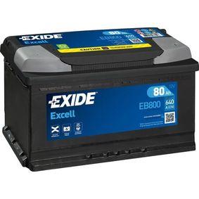 EXIDE Autobatterie EB800