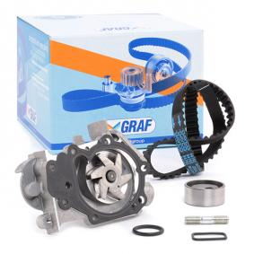 7701472675 für RENAULT, SANTANA, RENAULT TRUCKS, Wasserpumpe + Zahnriemensatz GRAF (KP632-1) Online-Shop