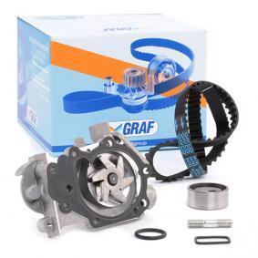 7703002053 für RENAULT, RENAULT TRUCKS, Wasserpumpe + Zahnriemensatz GRAF (KP632-1) Online-Shop