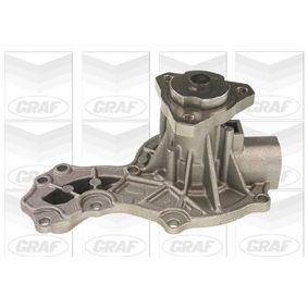 Wasserpumpe GRAF Art.No - PA146 OEM: 068121005C für VW, AUDI, SKODA, SEAT kaufen