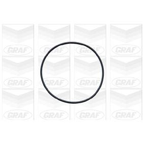 GRAF Wasserpumpe 1334014 für OPEL, FORD, BEDFORD, VAUXHALL bestellen