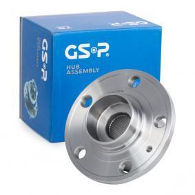 GSP 9336001 Hjullejesæt OEM - 6R0407621A AUDI, SEAT, SKODA, VW, VAG, FIAT / LANCIA, A.B.S. billige