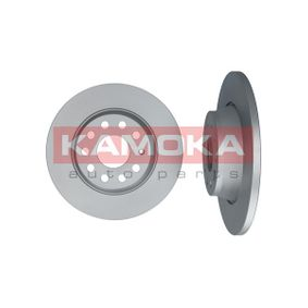Спирачен диск KAMOKA Art.No - 1031005 OEM: 1K0615601AD за VW, AUDI, MAZDA, SKODA, SEAT купете