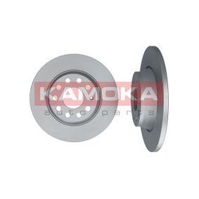 Bremsscheibe KAMOKA Art.No - 1031005 OEM: 1K0615601M für VW, AUDI, SKODA, SEAT, PORSCHE kaufen