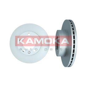 Bremsscheibe KAMOKA Art.No - 1031023 OEM: 9111038 für OPEL, RENAULT, NISSAN, VAUXHALL, PLYMOUTH kaufen