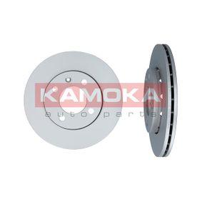 Bremsscheibe KAMOKA Art.No - 1031624 OEM: 6N0615301F für VW, AUDI, SKODA, SEAT kaufen