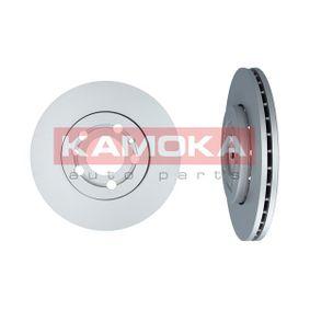 Bremsscheibe KAMOKA Art.No - 1031854 OEM: 8Z0615301B für VW, AUDI, SKODA, SEAT, SMART kaufen