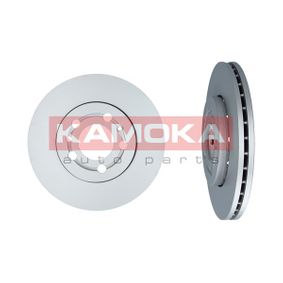 Bremsscheibe KAMOKA Art.No - 1031854 OEM: 8Z0615301D für VW, AUDI, SKODA, SEAT, SMART kaufen