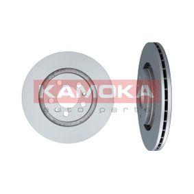 Bremsscheibe KAMOKA Art.No - 1031856 OEM: 1J0615301P für VW, AUDI, SKODA, SEAT, PORSCHE kaufen