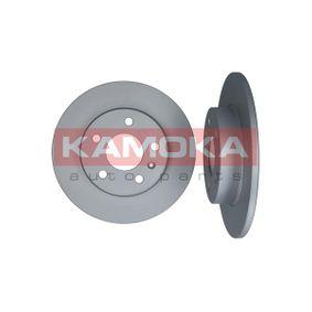 Bremsscheibe KAMOKA Art.No - 1032088 OEM: 90575113 für OPEL, CHEVROLET, VAUXHALL kaufen