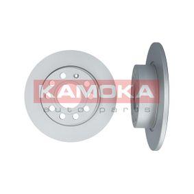 Bremsscheibe KAMOKA Art.No - 1032448 OEM: 1K0615601AB für VW, AUDI, SKODA, MAZDA, SEAT kaufen