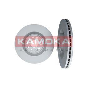 Спирачен диск KAMOKA Art.No - 1033008 OEM: 1K0615301AB за VW, AUDI, SKODA, SEAT купете